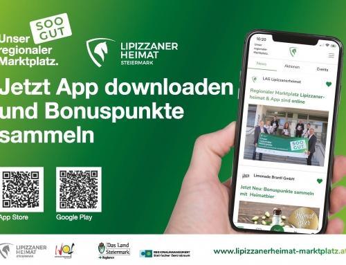 Information: Lipizzanerheimat-App und regionaler Marktplatz